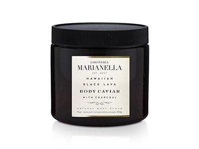 Jaboneria Marianella Hawaiian Black Lava Body Caviar, 16 oz