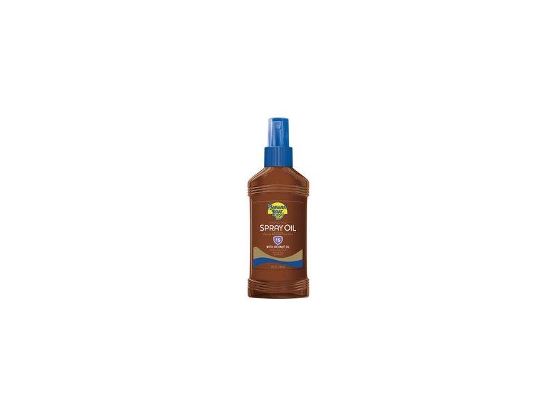 Banana Boat Deep Tanning Oil Pump Spray Sunscreen Broad Spectrum SPF 15