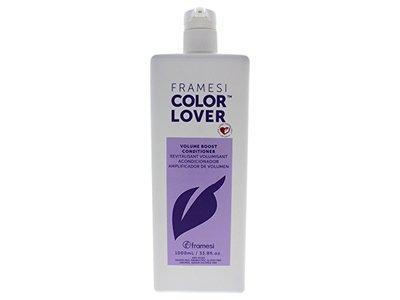FRAMESI Color Lover Volume Boost Conditioner, Floral, 33.8 oz. - Image 1