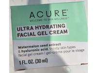 Acure Ultra Hydrating Facial Gel Cream, Watermelon Seed Extract & Hyaluronic Acid, 1 fl oz/30 mL - Image 3