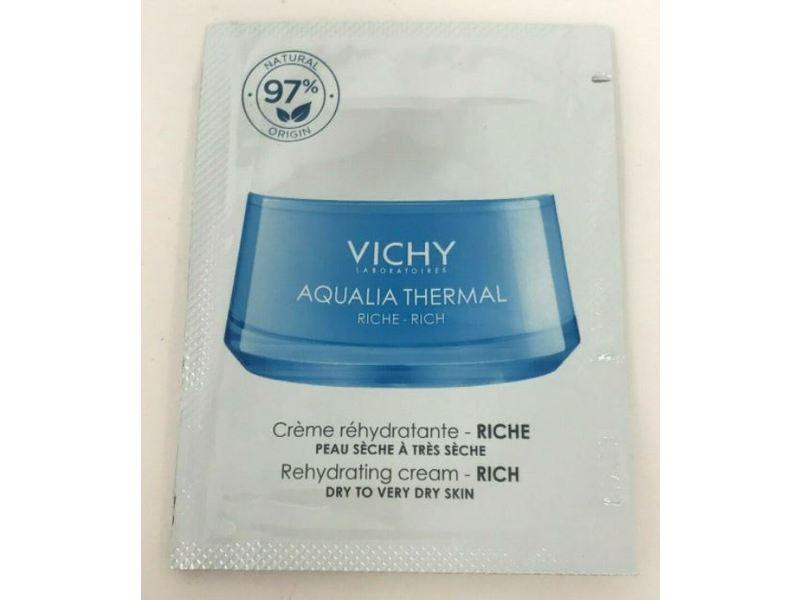 Vichy Laboratories Agualia Thermal Rehydrating Cream, 0.05 fl oz