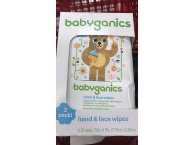 Babyganics Hand & Face Wipes, Fragrance Free, 30 count - Image 4