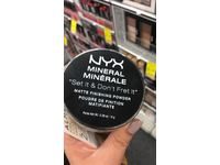 NYX Cosmetics Mineral Finishing Powder, Light/Medium, 0.28 oz - Image 5