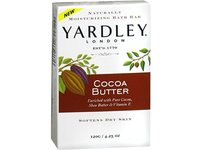 Yardley London Cocoa Butter Naturally Moisturizing Bath Bar, 4.25 ounce - Image 2