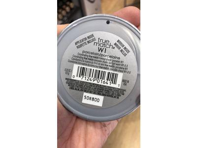 L'Oreal Paris True Match Powder, W1 Porcelain, 0.33 oz - Image 4