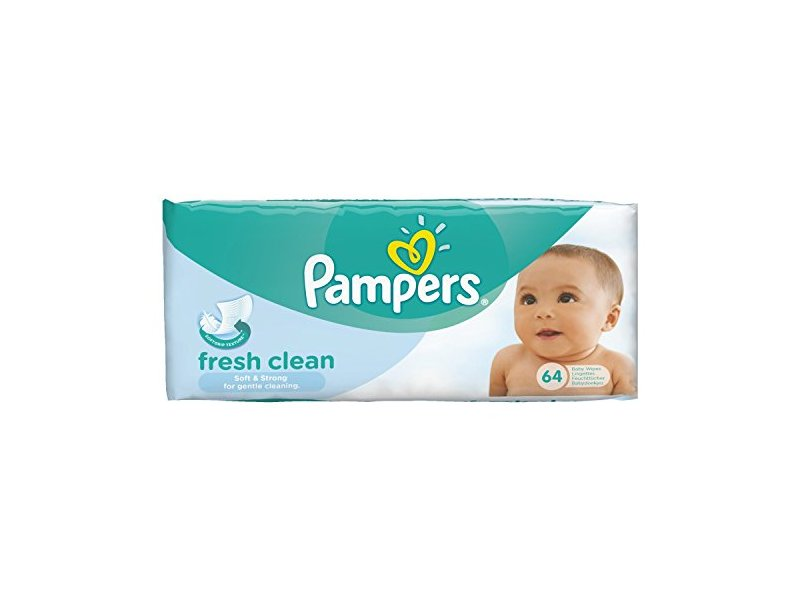 Pampers Complete Clean, 64 Wipes