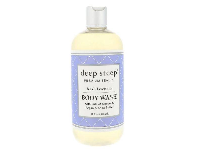 Deep Steep Body Wash, Fresh Lavender, 17 fl oz