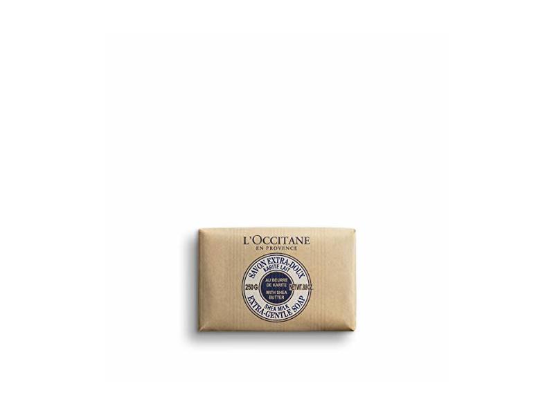 L'Occitane Extra-Gentle Soap, Shea Milk, 8.8 oz