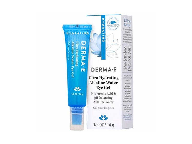 Derma-E Ultra Hydrating Alkaline Water Eye Gel, 0.5 oz/14 g