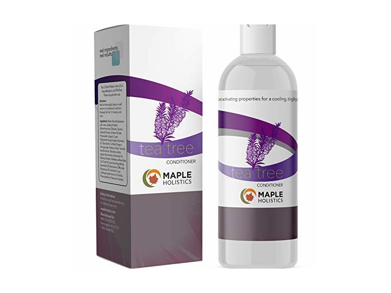 Maple Holistics Pure Tea Tree Oil Conditioner, 8 oz