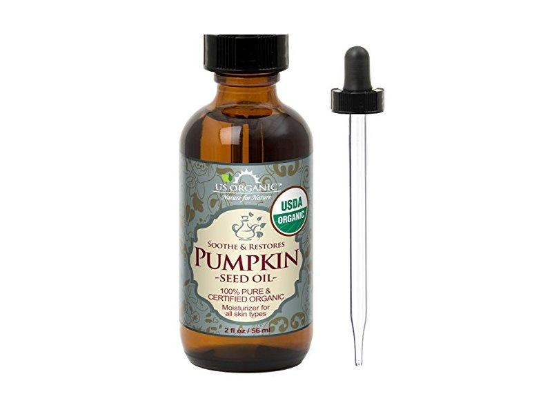 US Organic Pumpkin Seed Oil, 2 oz