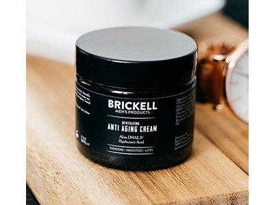 Brickell Men's Revitalizing Anti-Aging Cream For Men, Natural & Organic Anti Wrinkle Night Face Cream - 2 oz - Scented - Image 5