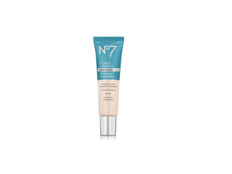 No7 Protect & Perfect Advanced All in 1 Foundation SPF 50, 30 ml