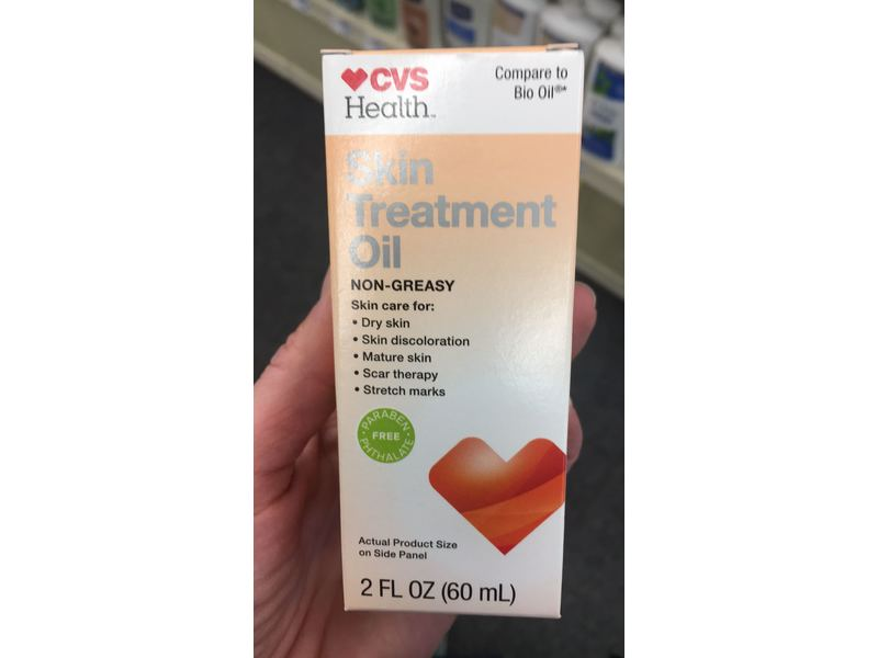 Cvs Health Skin Treatment Oil 2 Fl Oz Ingredients And Reviews
