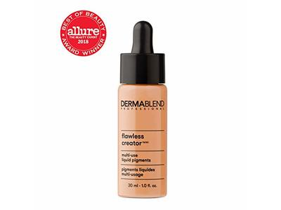 Dermablend Flawless Creator Liquid Foundation Makeup Drops, Oil-Free, Water-Free, 45C, 1 Fl. Oz. - Image 7