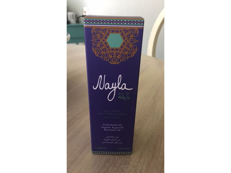 Nayla Hair Oil Bath, 3.38 fl oz