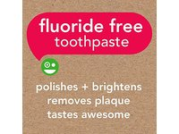 Hello Oral Care Kids Fluoride Free Toothpaste, Natural Watermelon, 4.2 Ounce - Image 3