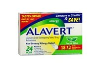 Alavert 24 Hour Orally Disintegrating Tablets Fresh Mint 60 Tablets (Pack of 2) - Image 2
