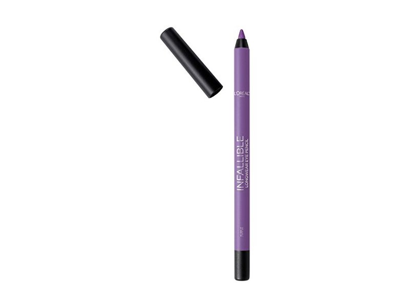 L'Oréal Paris Makeup Infallible Pro-Last Waterproof Pencil Eyeliner, Purple, 0.042 oz.