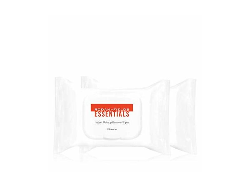 Rodan + Fields instant Makeup Remover Wipes, 30 towelettes