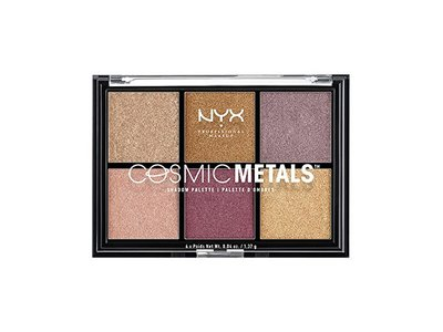 NYX Professional Makeup Cosmic Metals Shadow Palette, 0.04 oz