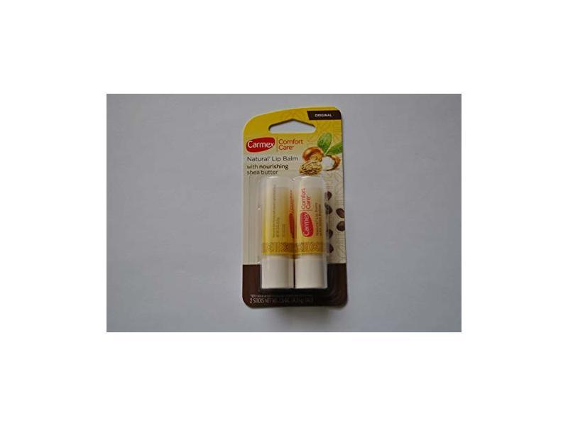 Carmex Comfort Care Natural Lip Balm, 0.15 oz