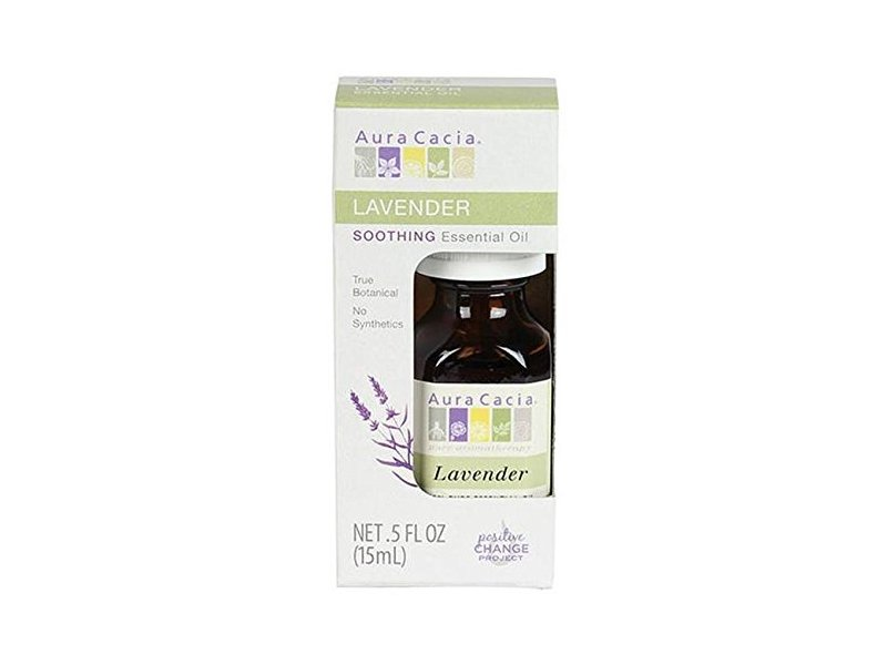 Aura Cacia Essential Lavender Oil, 0.5 oz