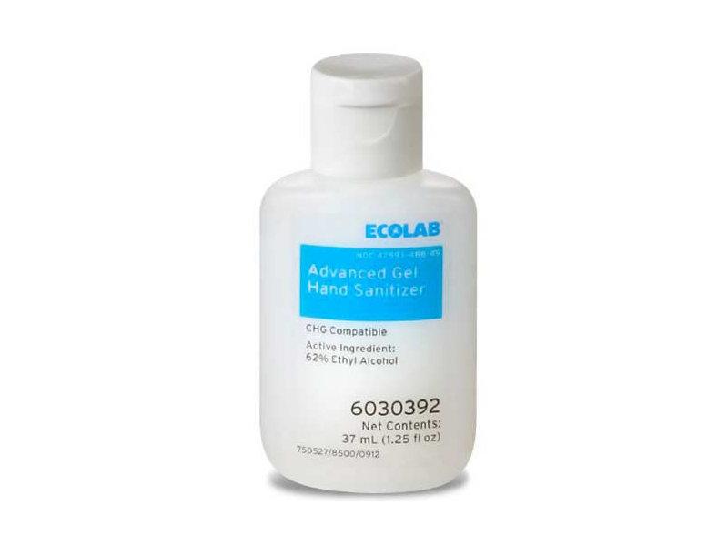 Ecolab Advanced Gel Hand Sanitizer, 1.25 fl oz