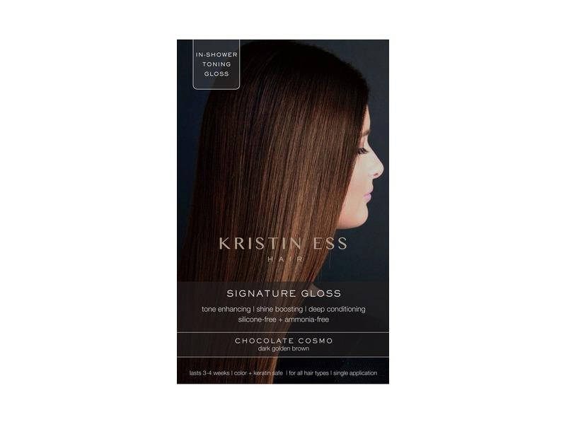 Kristin Ess Hair Signature Gloss, Chocolate Cosmo, 1 Application