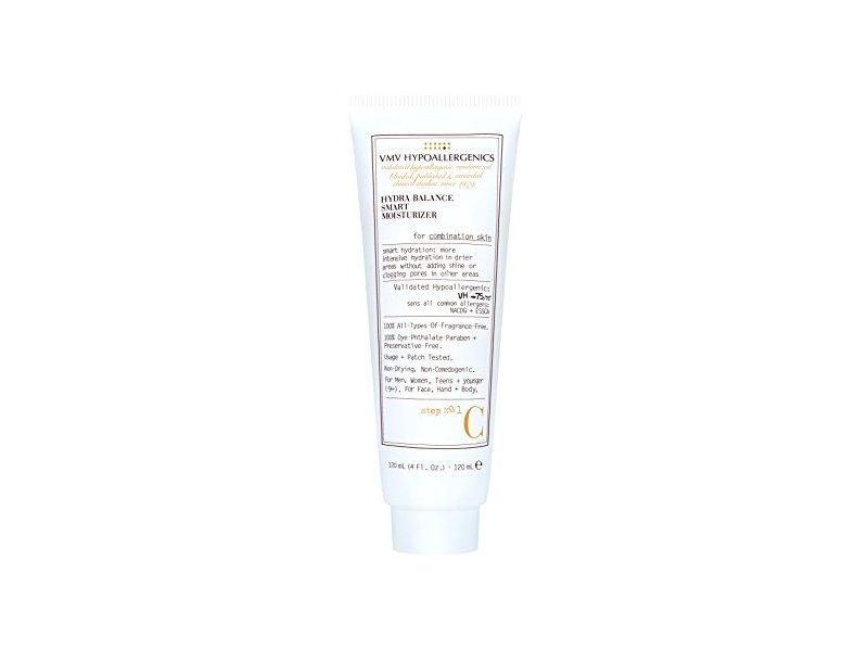 VMV Hypoallergenics Superskin Hydra Balance Smart Moisturiser for Combination Skin, 4 Fluid Ounce