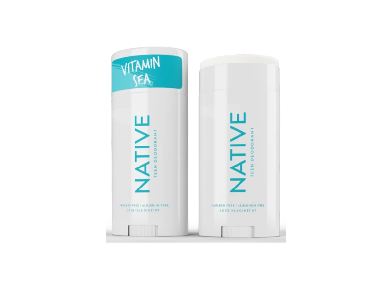 Native Teen Deodorant, Vitamin Sea, 2 oz/56 g