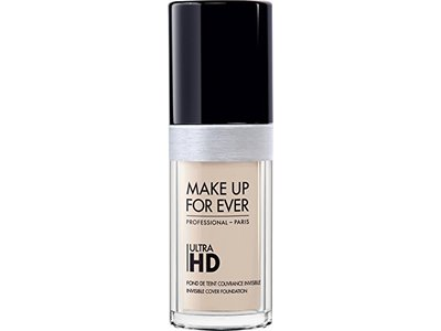Make Up For Ever Ultra HD Invisible Cover Foundation, Y205 Alabaster, 1.01 fl oz