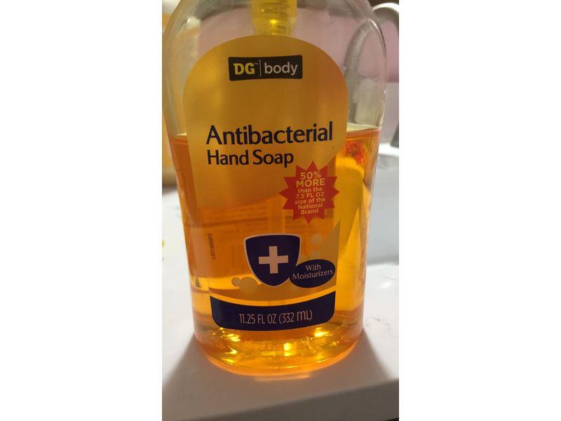 DG Body Antibacterial Hand Soap, 11.25 fl oz