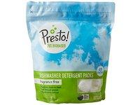 Presto! 78% Biobased Dishwasher Detergent Packs, 90 count, Fragrance Free (2 pack, 45 ct each) - Image 5