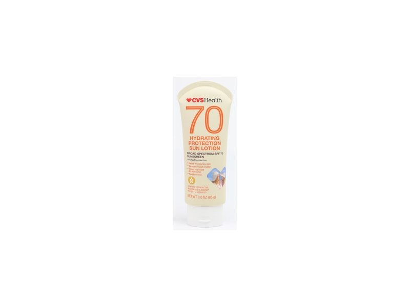 CVS Health Hydrating Protection Sun Lotion, SPF70