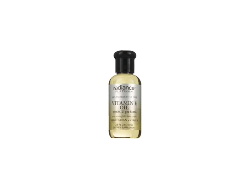 Radiance Platinum Vitamin E Oil Drops 30,000 IU, 2.5 oz