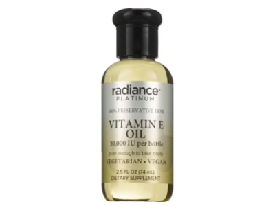 Radiance Platinum Vitamin E Oil Drops 30,000 IU, 2.5 oz