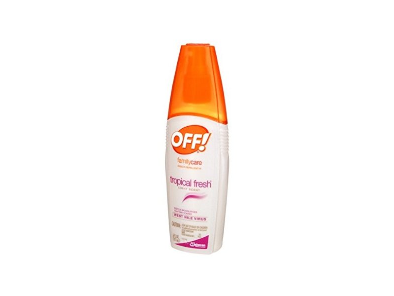 Off Skintastic Insect Repellent, Tropical Fresh, 6 fl oz