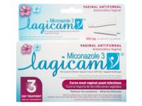 Lagicam V Yeast Infection 3 Day Treatment, Vaginal Antifungal, Miconazole 3, 0.9 oz/25 g - Image 2