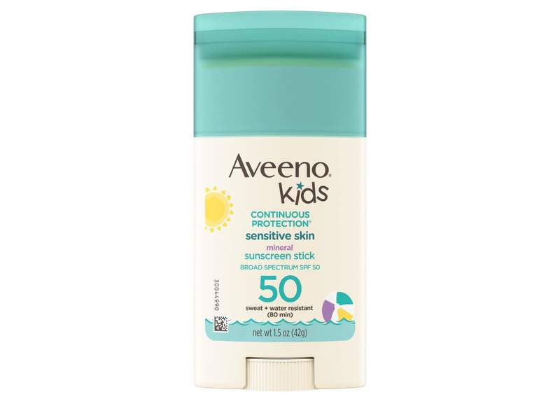 Aveeno Kids Continuous Protection Sunscreen SPF50