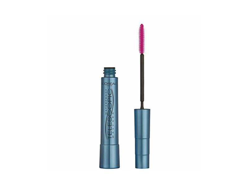 L'Oreal Paris Cosmetics Makeup Telescopic Original Waterproof Mascara, Black, .24 oz