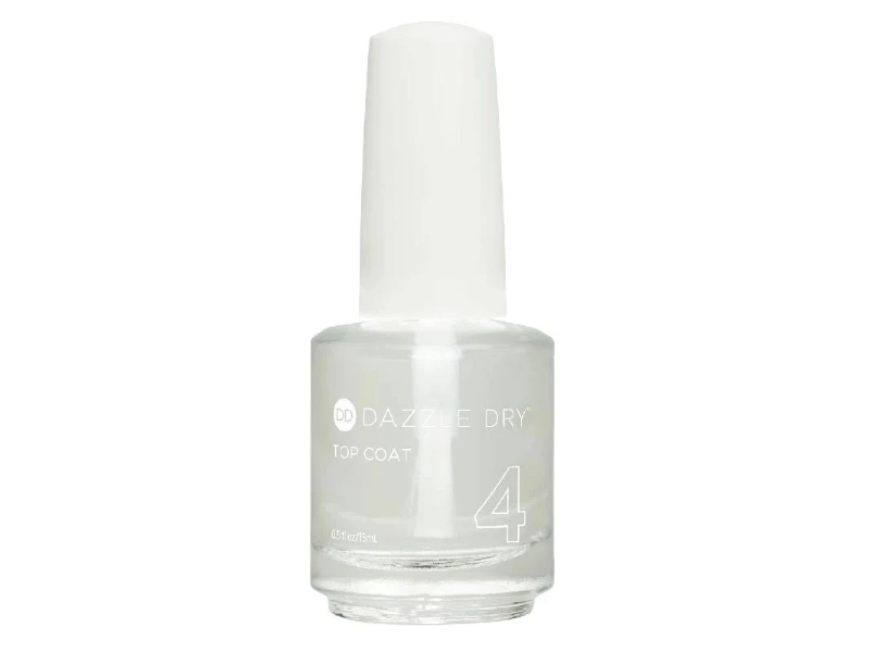 Dazzle Dry Top Coat, 0.17 fl oz