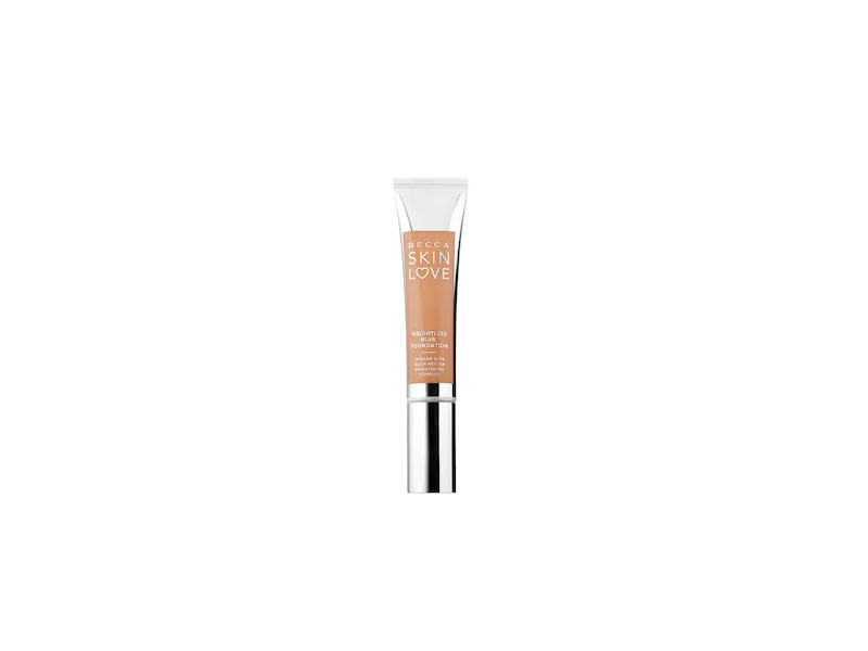 Becca Skin Love Weightless Blur Foundation, Noisette, 1.23 oz/35 mL