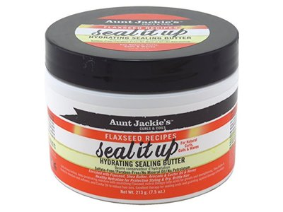 Aunt Jackie's Flaxseed Recipes Seal It Up Hydrating Sealing Butter, 7.5 oz - Image 1