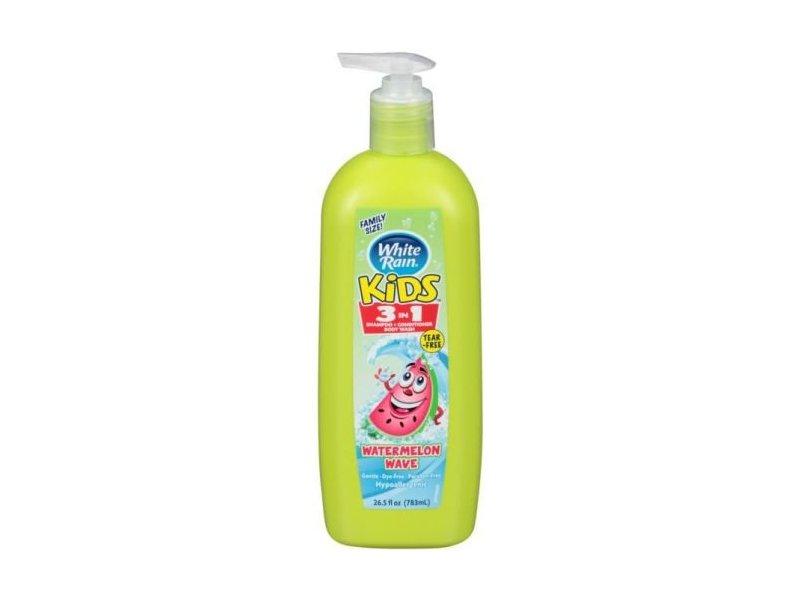 White Rain Kids 3-In-1 Watermelon Wave Body Wash, 26.5 fl oz