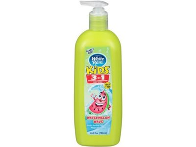 White Rain Kids 3-In-1 Watermelon Wave Body Wash, 26.5 fl oz