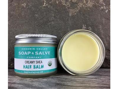 Chagrin Valley Soap & Salve Company Creamy Shea Hair Balm, 2 oz