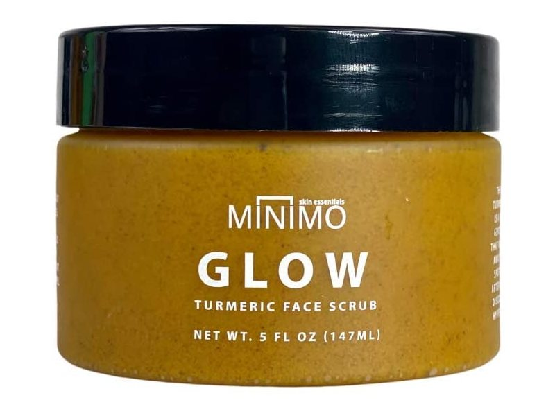 Minimo Glow Turmeric Face Scrub, 5 fl oz/147 mL
