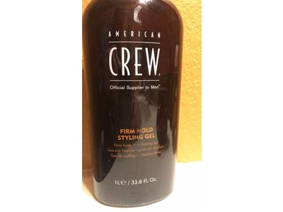 American Crew Firm Hold Styling Gel, 33.8-Ounce Bottle - Image 7