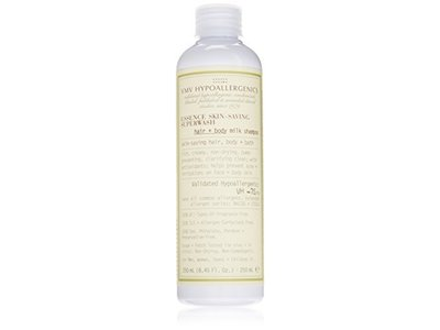 VMV Hypoallergenics Essence Skin-Saving Superwash: Hair + Body Milk Shampoo, 8.45 fl oz - Image 1
